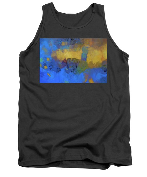Tank Top featuring the digital art Color Abstraction Lviii by David Gordon