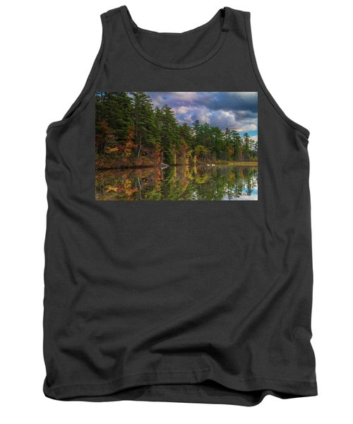Color At Songo Pond Tank Top