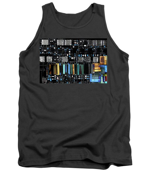 Color Chart Tank Top by Don Gradner