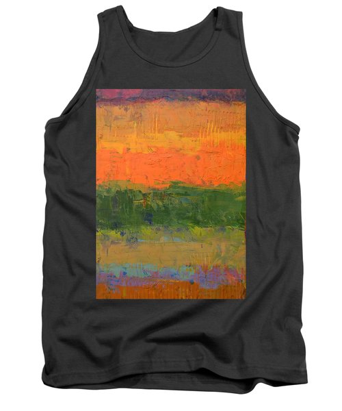 Color Collage Four Tank Top by Michelle Calkins