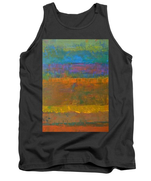 Color Collage One Tank Top by Michelle Calkins