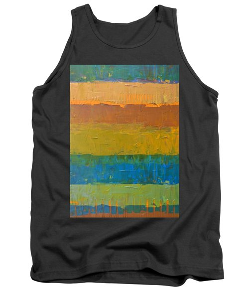 Color Collage Three Tank Top by Michelle Calkins