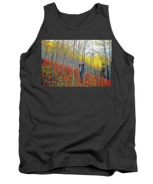 Color Fall Tank Top