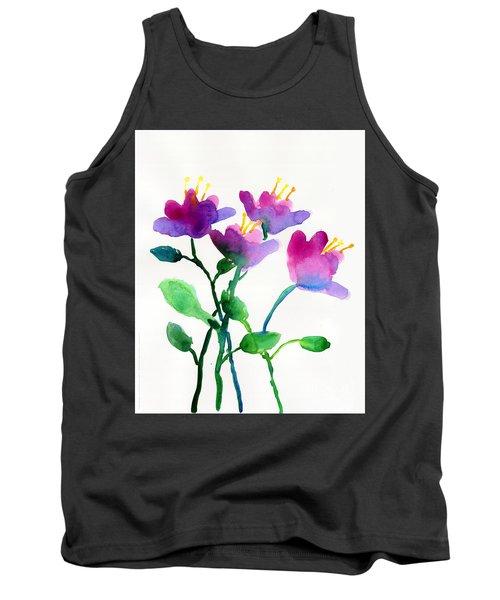 Color Flowers Tank Top