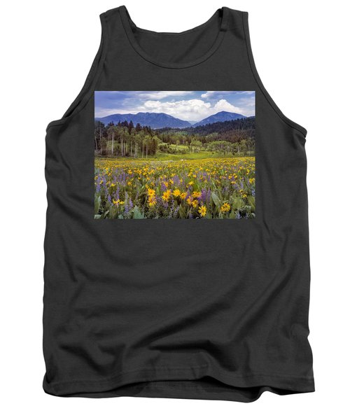 Color Of Spring Tank Top by Leland D Howard
