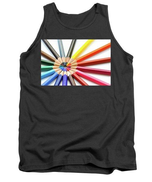 Color Pencils Tank Top