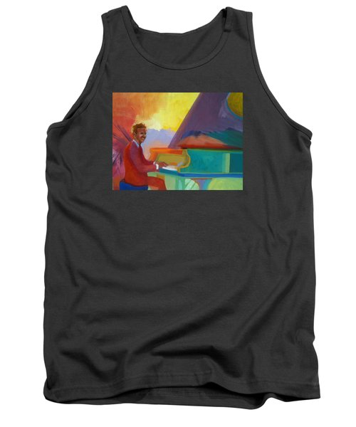 Color Piano Justin Levitt Steinway Tank Top