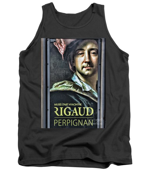 Color Rigaud Musee D' Art Perpignan France Up Close  Tank Top