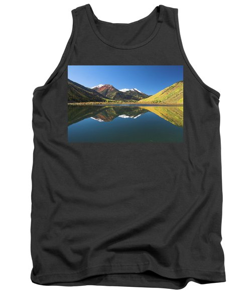 Tank Top featuring the photograph Colorado Reflections by Steve Stuller