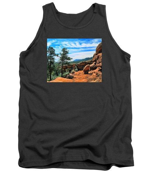 Colorado Rocks Tank Top by John Bushnell