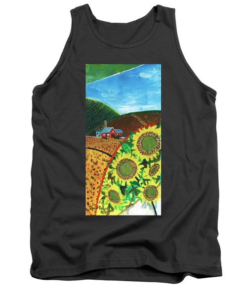 Colorado Sunflowers Tank Top