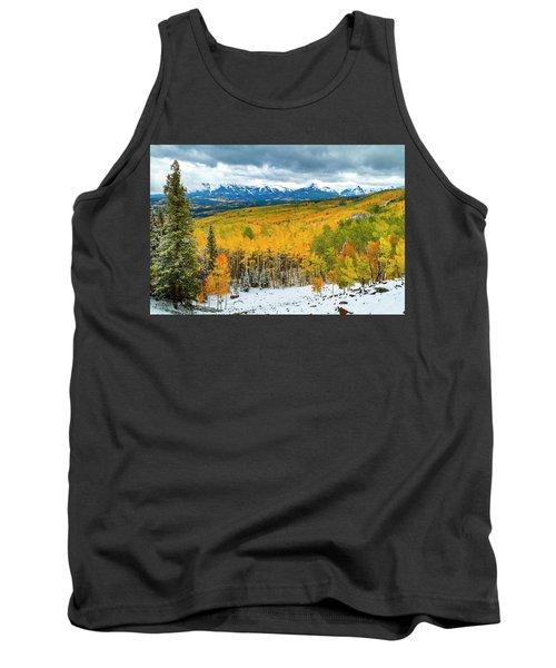 Colorado Valley Of Autumn Color Tank Top