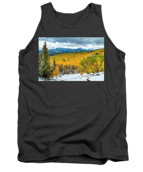 Colorado Valley Of Autumn Color Tank Top