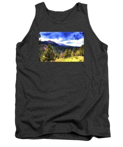 Colorado Watercolor Tank Top