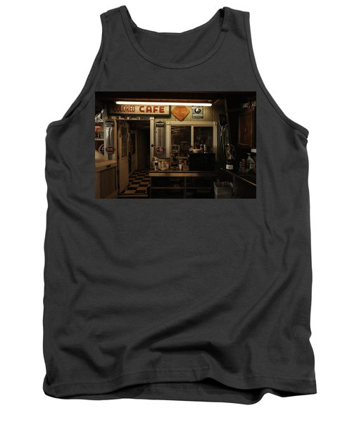 Colored Cafe Tank Top