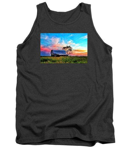 Colored Sunrise Tank Top
