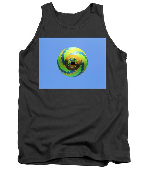 Colorful Abstract Hot Air Balloon Tank Top