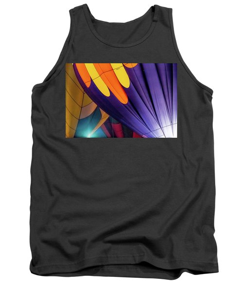 Colorful Abstract Hot Air Balloons Tank Top