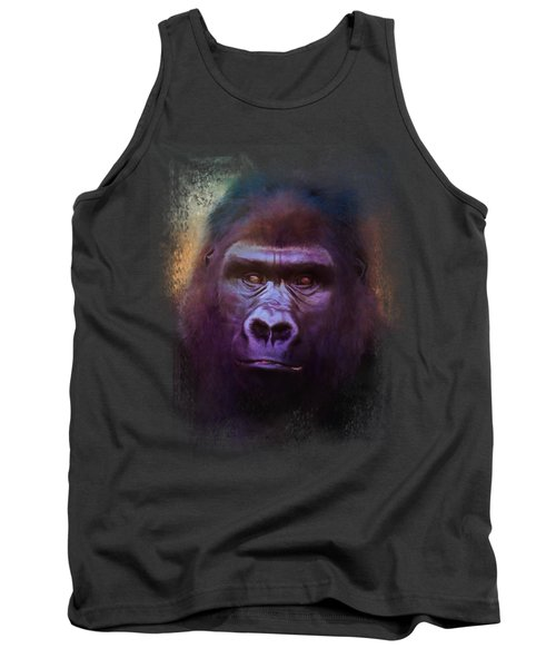 Colorful Expressions Gorilla Tank Top by Jai Johnson