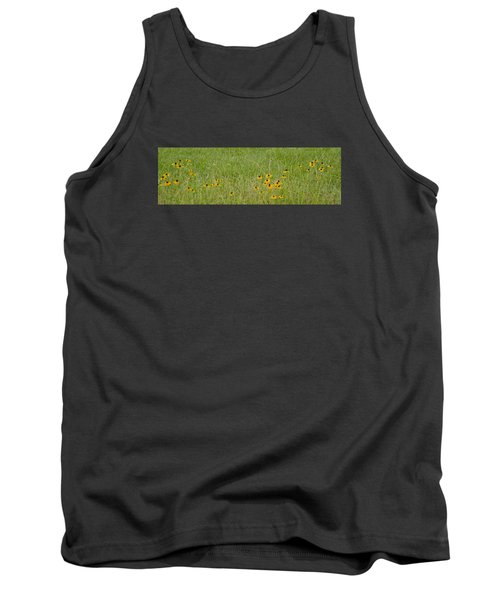 Tank Top featuring the photograph Colorful Field by Wanda Krack