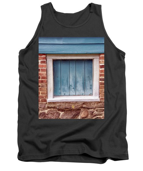Colorful Nonwindow At Walnford Tank Top by Gary Slawsky