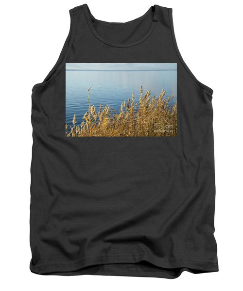Colorful Reeds Tank Top by Kennerth and Birgitta Kullman