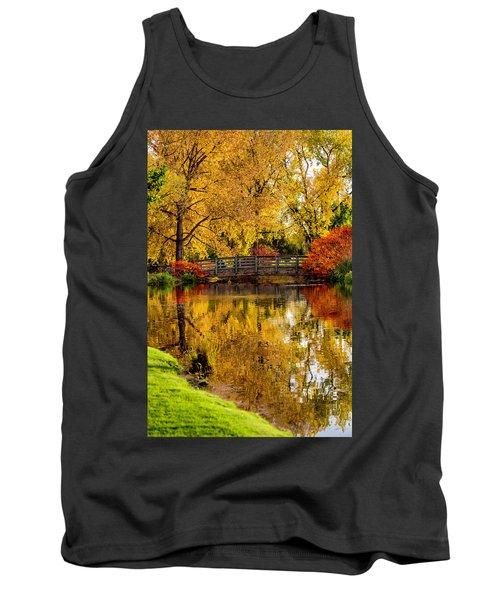Colorful Reflections Tank Top by Kristal Kraft