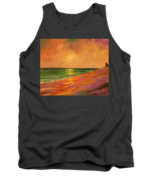 Colorful Sunset Tank Top