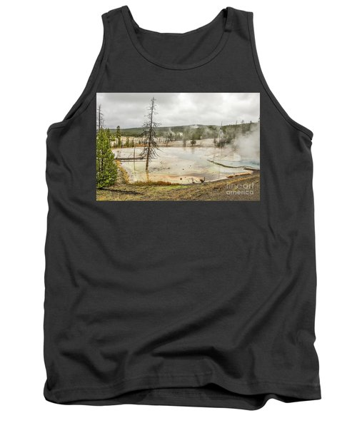 Colorful Thermal Pool Tank Top by Sue Smith