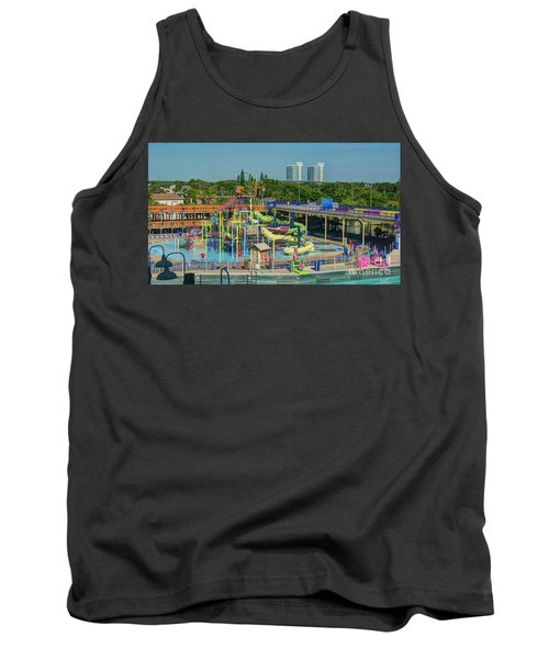 Colorful Water Park Tank Top