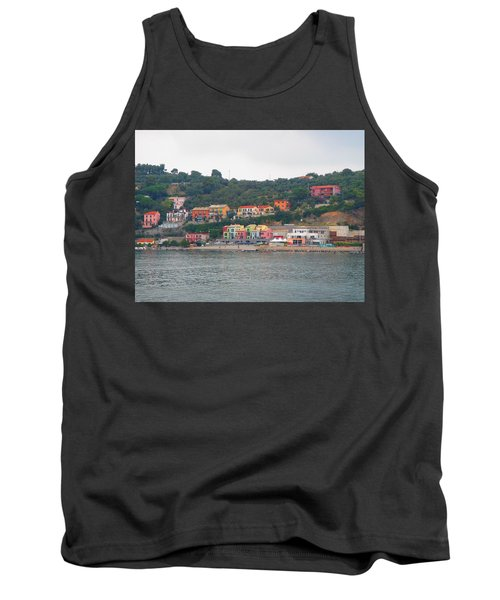 Colors Along The Coast Tank Top by Christin Brodie