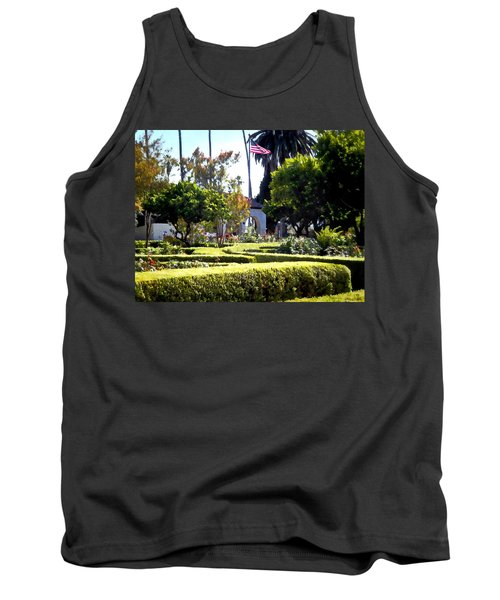 Tank Top featuring the photograph Colors In The Garden by Glenn McCarthy Art and Photography