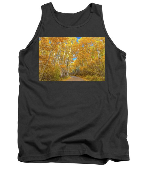 Tank Top featuring the photograph Colors Of Fall by Darren White