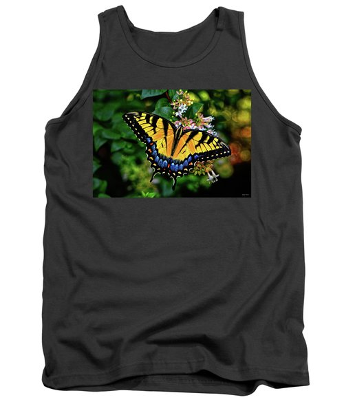 Tank Top featuring the photograph Colors Of Nature - Swallowtail Butterfly 003 by George Bostian