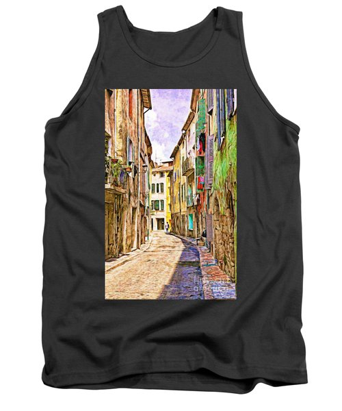 Colors Of Provence, France Tank Top