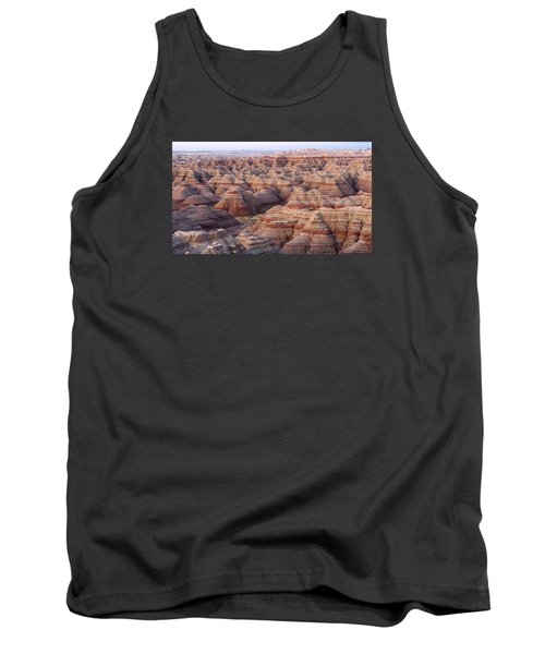 Colors Of The Badlands Tank Top by Monte Stevens