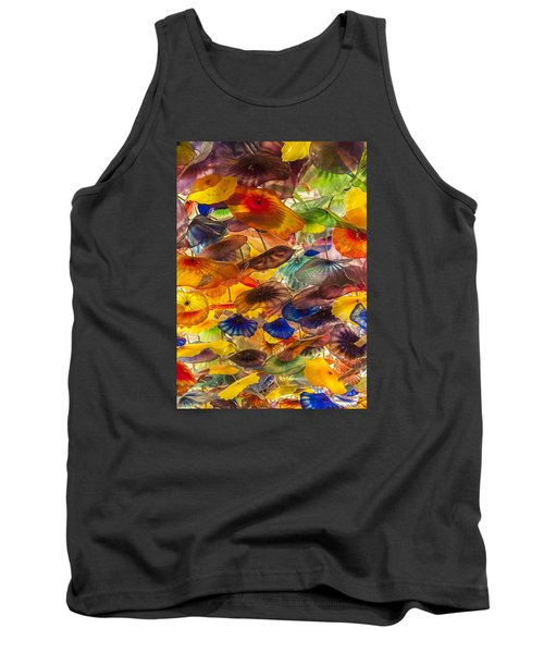 Tank Top featuring the photograph Colors by Tyson and Kathy Smith