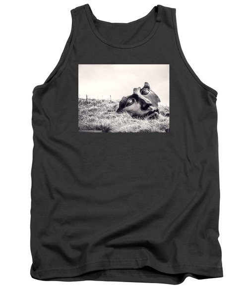 Colossal Mask Tank Top