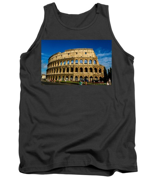 Colosseo Roma Tank Top by Rainer Kersten