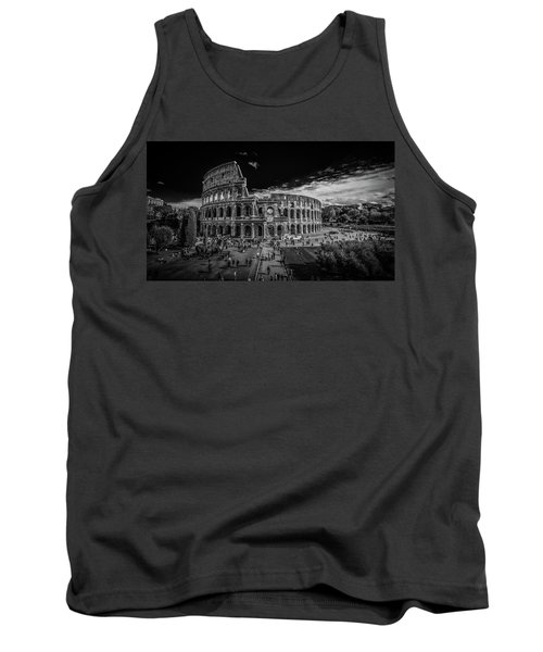 Tank Top featuring the photograph Colosseum by James Billings