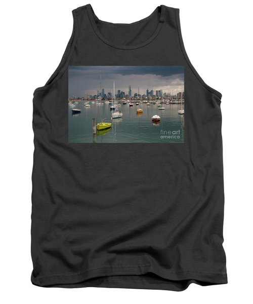 Colour Of Melbourne 2 Tank Top by Werner Padarin