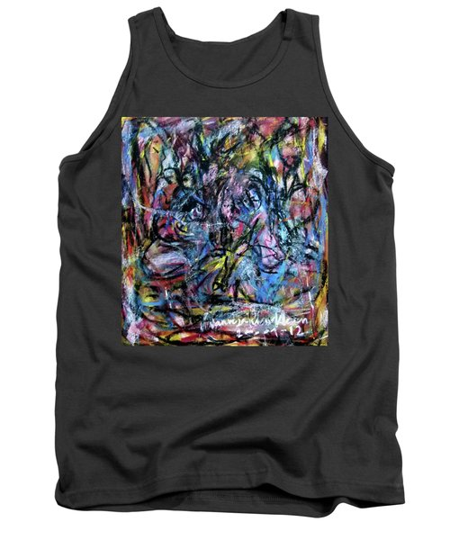 Colour Talking Tank Top