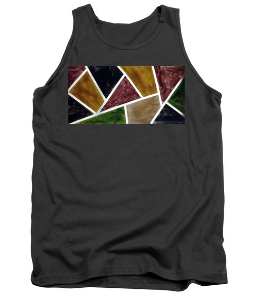 Coloured Glass Tank Top