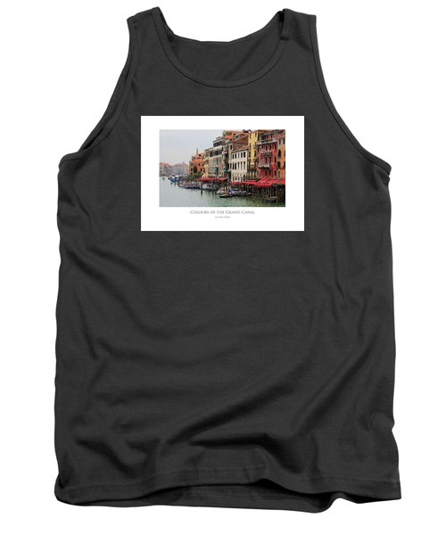 Colours Of The Grand Canal Tank Top