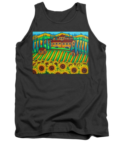 Colours Of Tuscany Tank Top