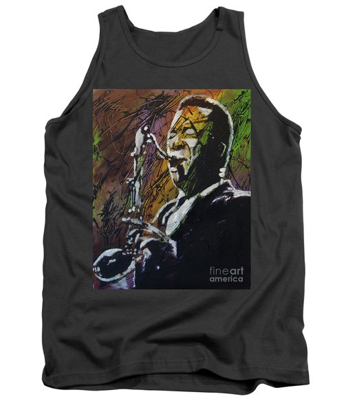 Coltrane Tank Top by Stuart Engel