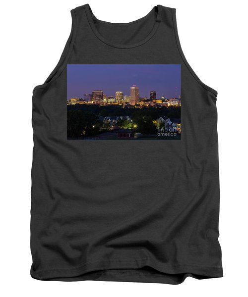 Columbia Skyline At Twilight Tank Top