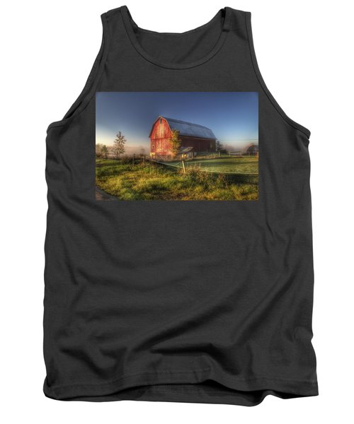 0009 - Columbiaville Red I Tank Top