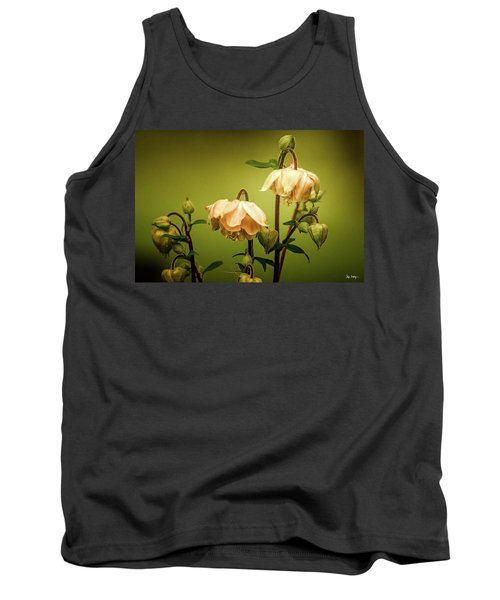 Columbines In Summer Tank Top by Skip Tribby