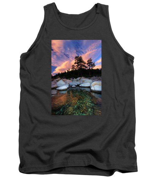 Come Into My World Tank Top by Sean Sarsfield
